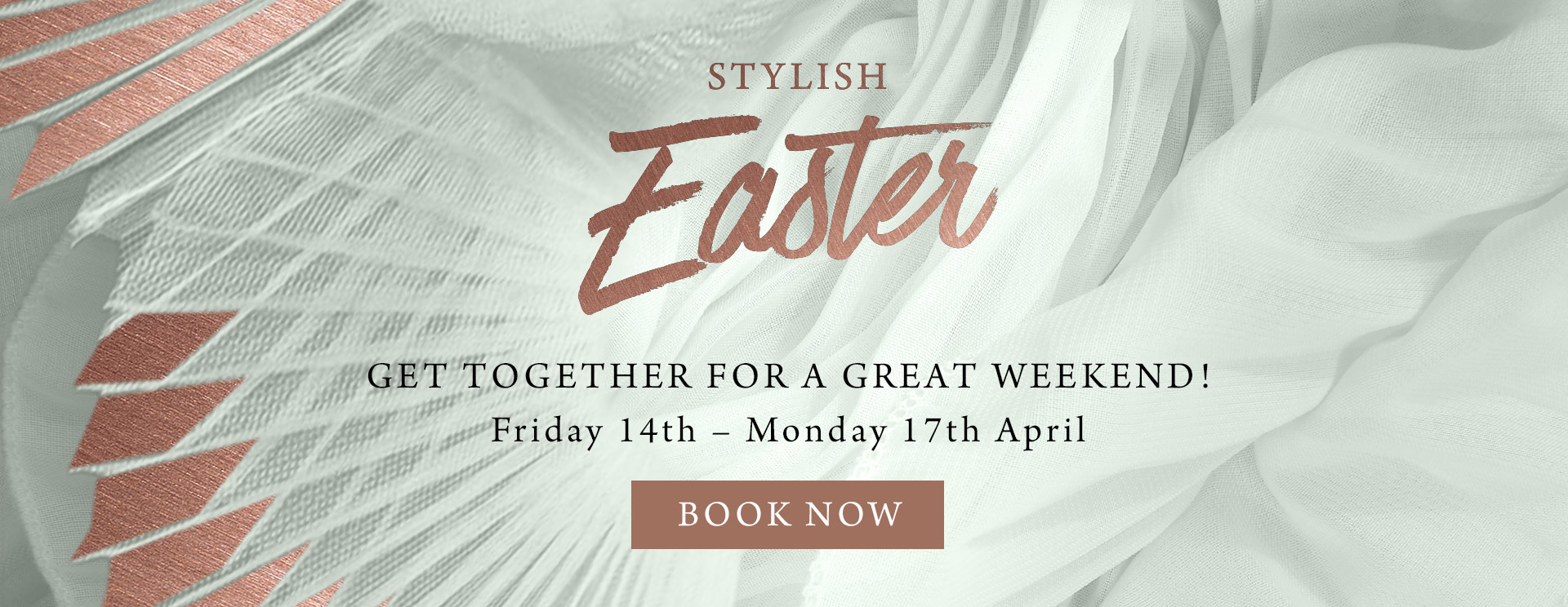 Stylish Easter at The Dukes Head - Book now